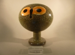 Tengmans Owl greenish  | Chlas Atelier